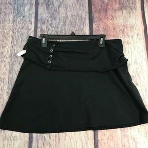Anthropogie Free People Women's Large Black Skirt